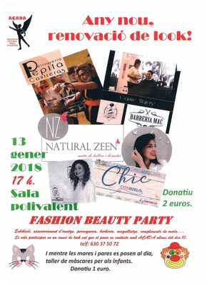 ACTIVITAT ACADA: FASHION BEAUTY PARTY