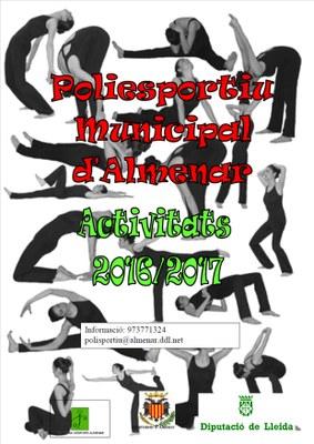 INICI ACTIVITATS POLIESPORTIU MUNICIPAL