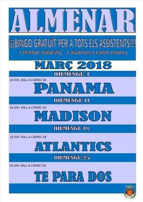 BALL DIUMENGE - MARÇ 2018