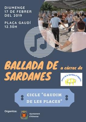 """CICLE """"GAUDIM DE LES PLACES"""""""