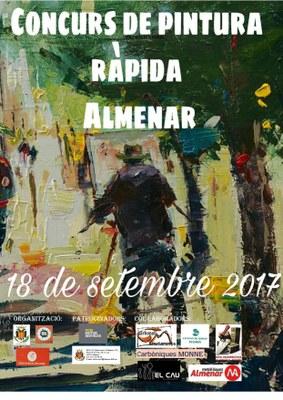 CONCURS DE PINTURA RÀPIDA ALMENAR 2017