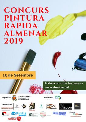 Concurs de Pintura Ràpida Almenar 2019