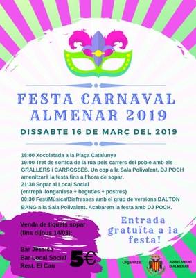 FESTA DE CARNAVAL 2019