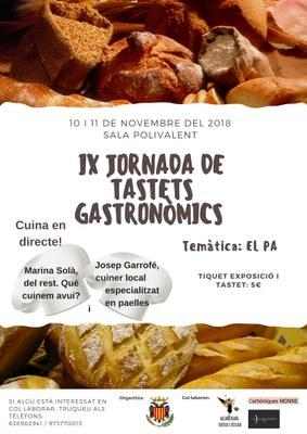 IX JORNADA DE TASTETS GASTRONÒMICS