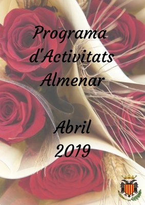 PROGRAMA D'ACTIVITATS ABRIL 2019