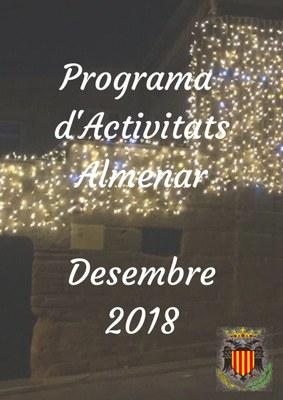 Programa d'Activitats Desembre 2018