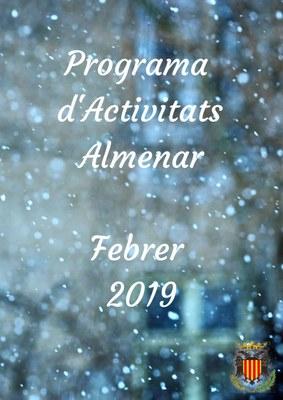 PROGRAMA D'ACTIVITATS FEBRER 2019