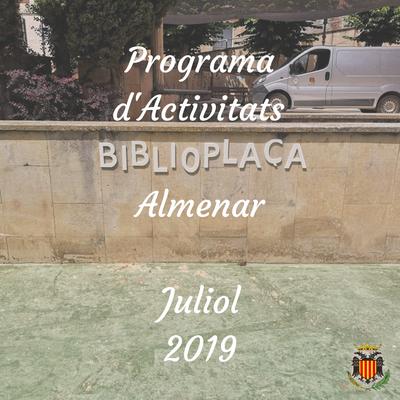 Programa d'Activitats Juliol 2019