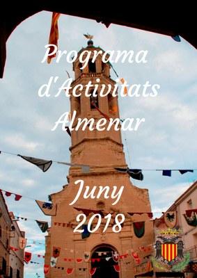 Programa d'Activitats Juny 2018