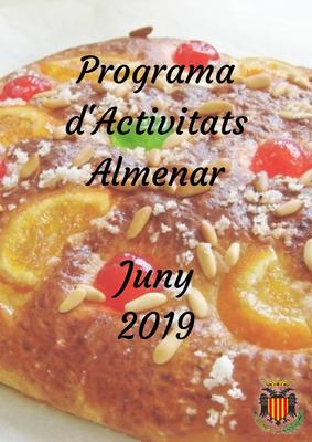 PROGRAMA D'ACTIVITATS JUNY 2109