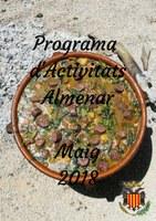 Programa d'Activitats Maig 2018