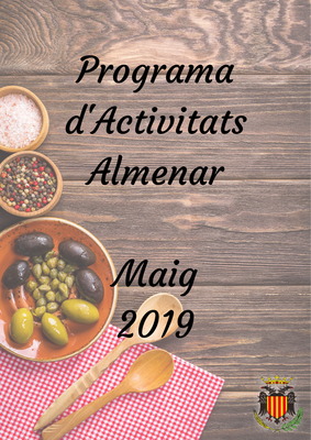 PROGRAMA D'ACTIVITATS MAIG 2019