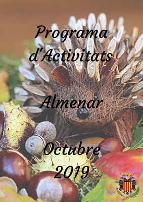 Programa d'Activitats Octubre 2019