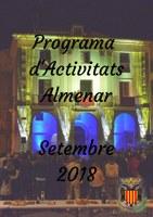 Programa d'Activitats Setembre 2018