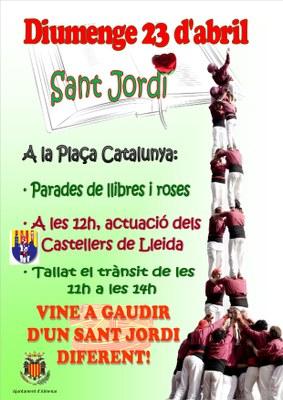 SANT JORDI, DIUMENGE 23 D'ABRIL