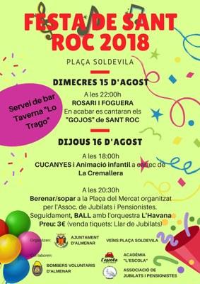 Sant Roc 2018