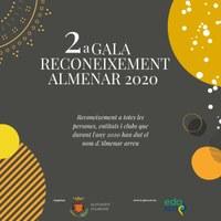2a GALA RECONEIXEMENT ALMENAR 2020